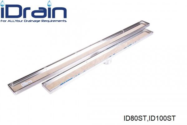 کفشور خطی استیل کاشی خور مدل ID80ST